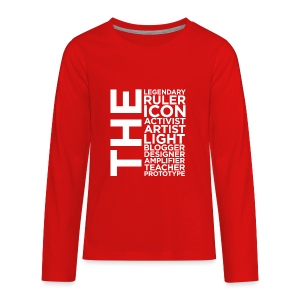 The Ruler Collection - Kids' Premium Long Sleeve T-Shirt