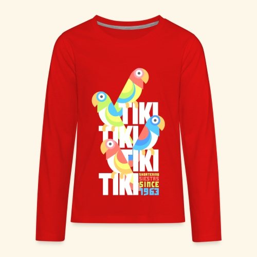 Tiki Room - Kids' Premium Long Sleeve T-Shirt