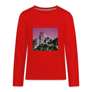 Pink Forest Gart - Kids' Premium Long Sleeve T-Shirt
