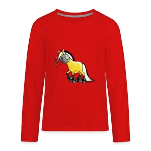 fjord_horse - Kids' Premium Long Sleeve T-Shirt