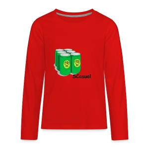 SCasual - Kids' Premium Long Sleeve T-Shirt