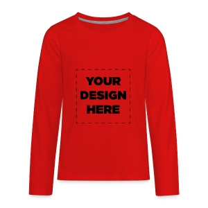 Name of design - Kids' Premium Long Sleeve T-Shirt