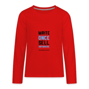 Write Once Sell Anywhere - Kids' Premium Long Sleeve T-Shirt
