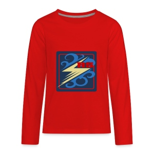 Rimps Logo Flash - Kids' Premium Long Sleeve T-Shirt