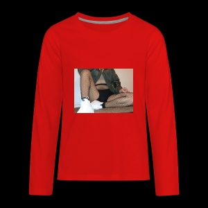 self modeled - Kids' Premium Long Sleeve T-Shirt
