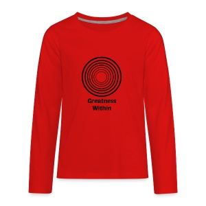Greatness Within - Kids' Premium Long Sleeve T-Shirt