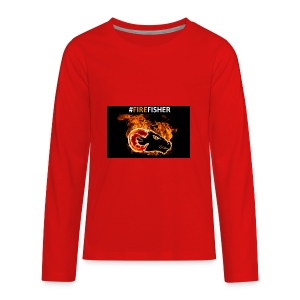 Fire_Fisher - Kids' Premium Long Sleeve T-Shirt