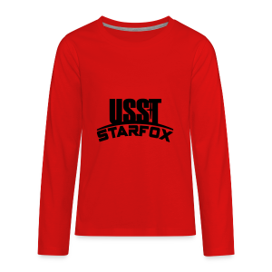 USST STARFOX Text - Kids' Premium Long Sleeve T-Shirt