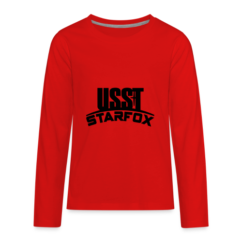 USST STARFOX Text - Kids' Premium Long Sleeve T-Shirt