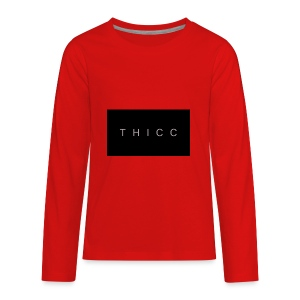 T H I C C T-shirts,hoodies,mugs etc. - Kids' Premium Long Sleeve T-Shirt