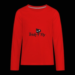 logo_T2F_b - Kids' Premium Long Sleeve T-Shirt