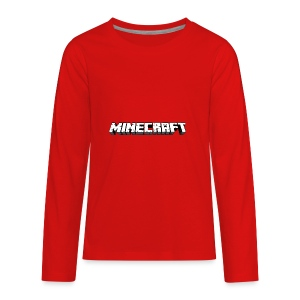 Mincraft MERCH - Kids' Premium Long Sleeve T-Shirt