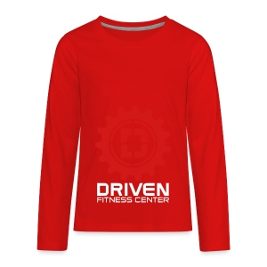 Stacked Logo - Kids' Premium Long Sleeve T-Shirt