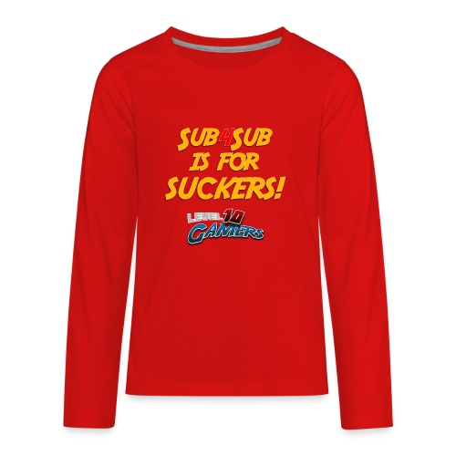 Anti Sub4Sub - Kids' Premium Long Sleeve T-Shirt