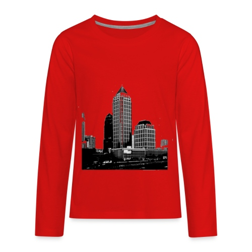 ATL city - Kids' Premium Long Sleeve T-Shirt