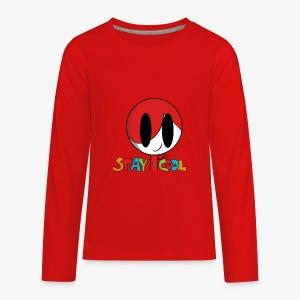 Stay Cool Kids Shirt by GamingKid3838 - Kids' Premium Long Sleeve T-Shirt