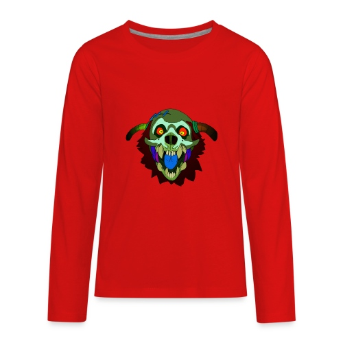Dr. Mindskull - Kids' Premium Long Sleeve T-Shirt