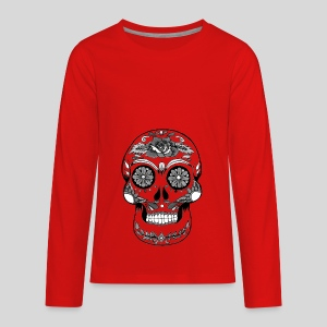 Catrina Black & White - Kids' Premium Long Sleeve T-Shirt