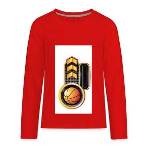 Baller Merch - Kids' Premium Long Sleeve T-Shirt
