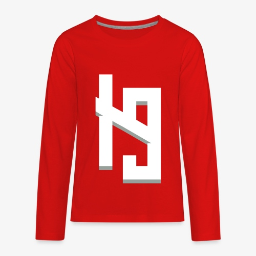 IronPrime9 Text Logo - Kids' Premium Long Sleeve T-Shirt