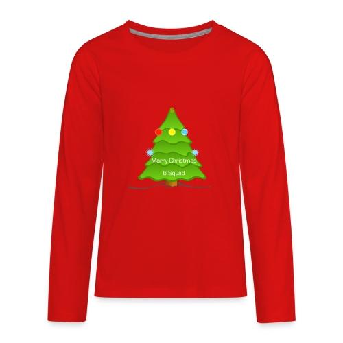 Merry Christmas merchandise (6 Squad) (limited) - Kids' Premium Long Sleeve T-Shirt