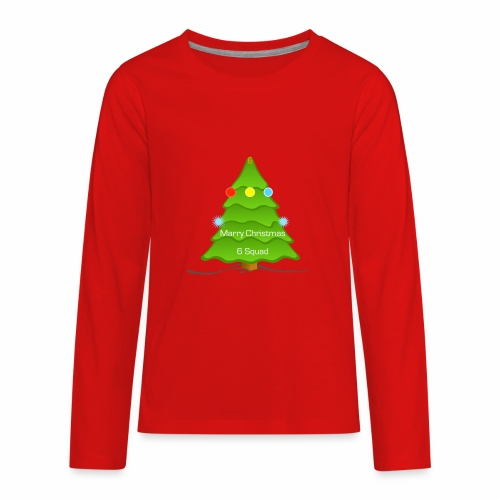 Merry Christmas merchandise (6 Squad) (limited) - Kids' Premium Long Sleeve T-Shirt