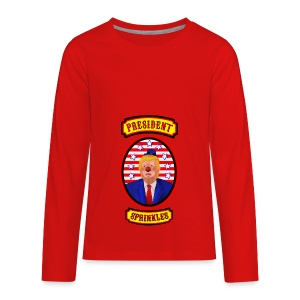 President Sprinkles - Kids' Premium Long Sleeve T-Shirt