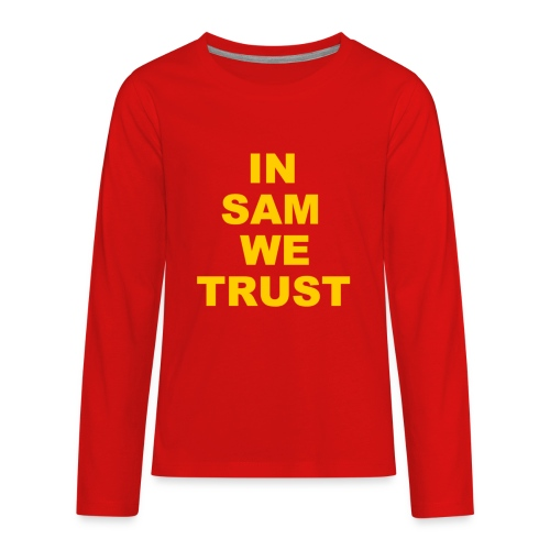 In SD We Trust - Kids' Premium Long Sleeve T-Shirt