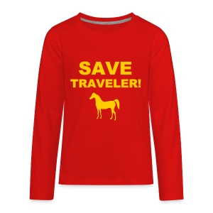 Save Traveler - Kids' Premium Long Sleeve T-Shirt