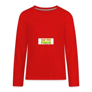 Tap the frog - Kids' Premium Long Sleeve T-Shirt