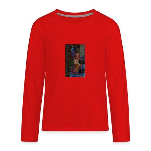 Music tshirt - Kids' Premium Long Sleeve T-Shirt