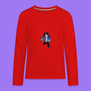 MasterBlood Skin - Kids' Premium Long Sleeve T-Shirt