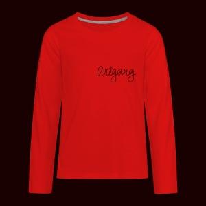 AriGang logo - Kids' Premium Long Sleeve T-Shirt