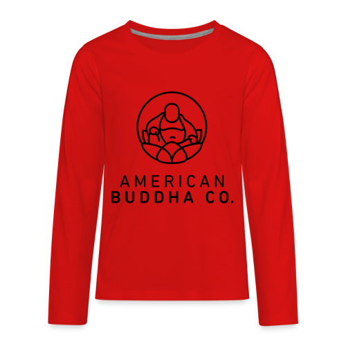 AMERICAN BUDDHA CO. ORIGINAL - Kids' Premium Long Sleeve T-Shirt