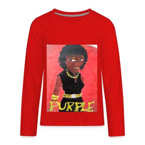Nigerian - Kids' Premium Long Sleeve T-Shirt