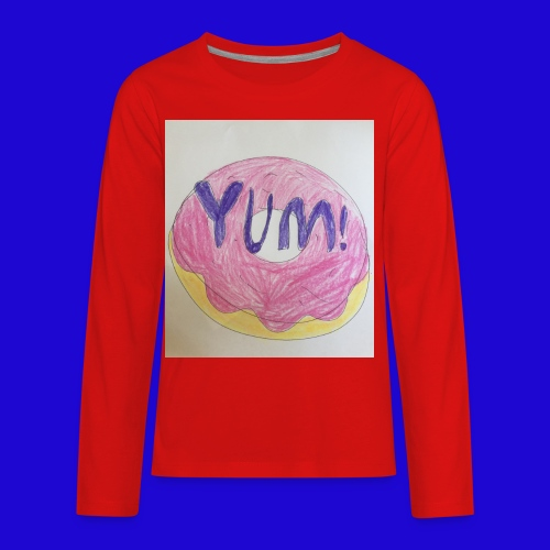 Yum! - Kids' Premium Long Sleeve T-Shirt