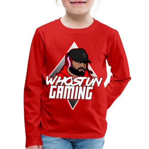 WHOSTUN LOGO - Kids' Premium Long Sleeve T-Shirt