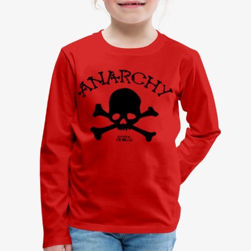 Anar Skull black - Kids' Premium Long Sleeve T-Shirt