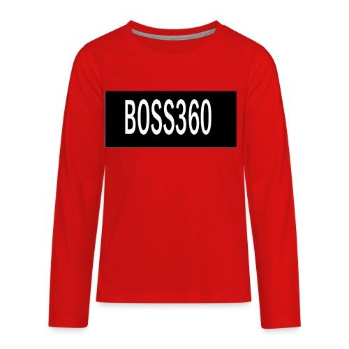 boss titre - Kids' Premium Long Sleeve T-Shirt