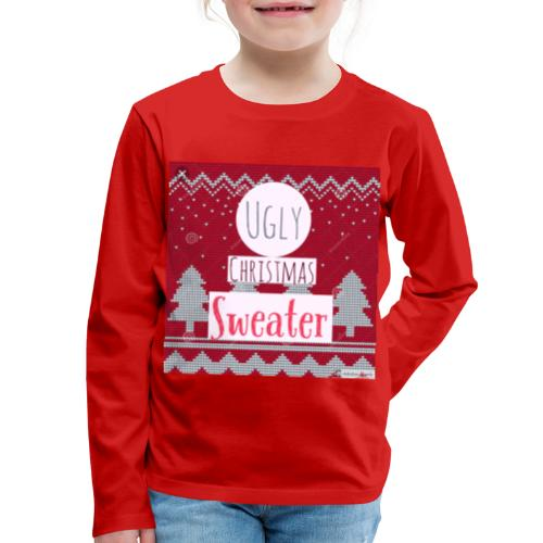 Ugly Christmas Sweater - Kids' Premium Long Sleeve T-Shirt