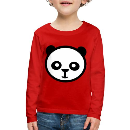 Panda bear, Big panda, Giant panda, Bamboo bear - Kids' Premium Long Sleeve T-Shirt