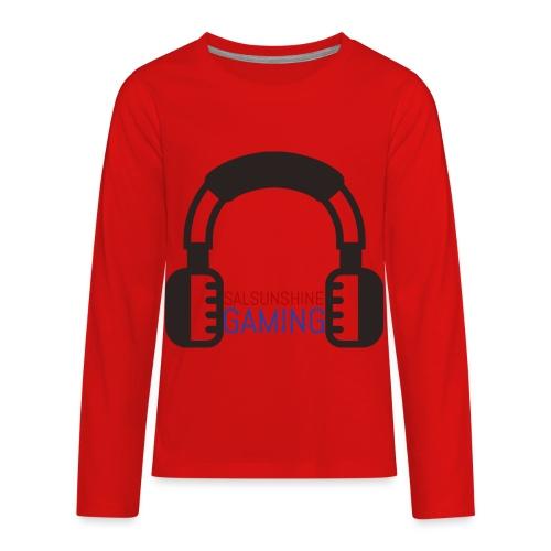 SALSUNSHINE GAMING LOGO - Kids' Premium Long Sleeve T-Shirt
