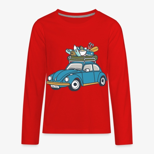 Gone Fishin' - Kids' Premium Long Sleeve T-Shirt