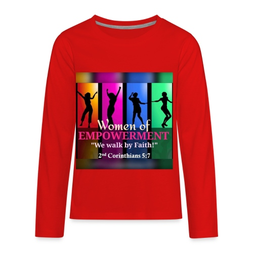 Woman Of Empowerment - Kids' Premium Long Sleeve T-Shirt