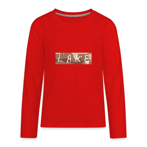 LAKE_LOGO2 - Kids' Premium Long Sleeve T-Shirt