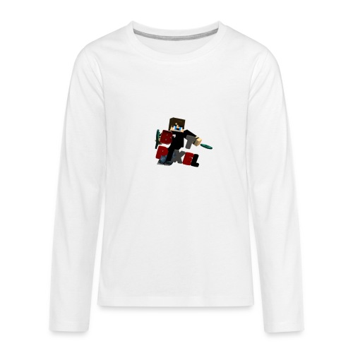 Batpixel Merch - Kids' Premium Long Sleeve T-Shirt