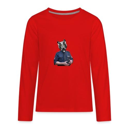 wolf police - Kids' Premium Long Sleeve T-Shirt