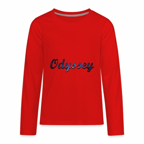 Galaxy Odyssey - Kids' Premium Long Sleeve T-Shirt