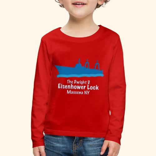Eisenhower Lock Blue - Kids' Premium Long Sleeve T-Shirt