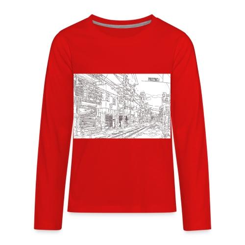 StreetLines - Kids' Premium Long Sleeve T-Shirt